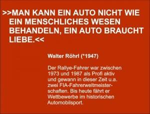Zitat Walter Röhrl